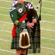 entertainment, bagpiper