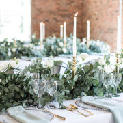 candles, centrepieces, greenery, table decor, table decor, table decor, table decor, table decor, table decor, table decor, table decor, table decor with candles - Ever Be Wedding Venue