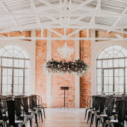 hanging floral - Ever Be Wedding Venue