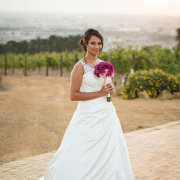 bouquet, bride, winelands