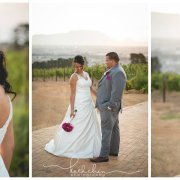 bouquet, bride and groom, winelands