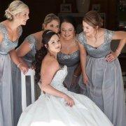 brides maids dresses, grey