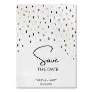 save the dates, wedding stationery - Blue Crayon Design Studio