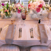 flowers, table setting, table setting