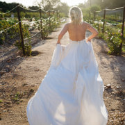 vineyard, wedding dress - Blush&Brush - Kirsti van Zyl Makeup and Hair