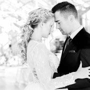 bride and groom, bride and groom, flower crowns - Outlandish Events - Luxury & Destination Weddings