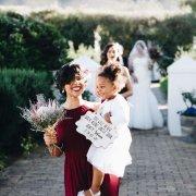 bridesmaids, bridesmaids, flower girl - Flowers by Arlene