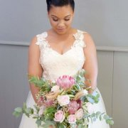 wedding bouquet, wedding flowers - Flowers by Arlene