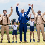 groom, groomsmen, page boys, suits - Melisa Scheepers Photography