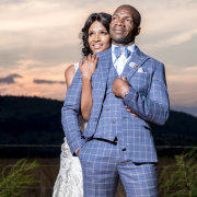 bride and groom, bride and groom, suits - Melisa Scheepers Photography
