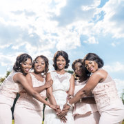 bride and bridesmaids - Melisa Scheepers Photography