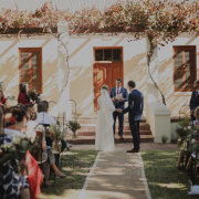 bride and groom, bride and groom, bride and groom, outdoor ceremony - Phase Events & Marketing