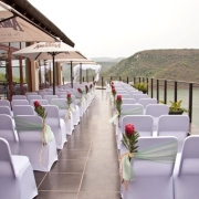 ceremony, outside ceremony, seating, venue, wedding venue