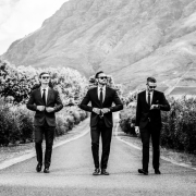 groom and groomsmen, grooms suits - The Roots Movement