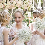 bride, flower girls - Makeup by Taryn