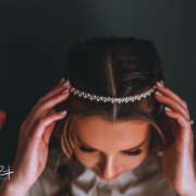 bridal hair accessories - Makeup by Taryn