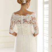 hair accessorie, hair style, lace, wedding dress, wedding dress, wedding dress - Cathrine\