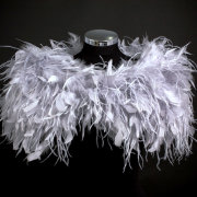 feather bolero