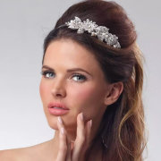 hair and makeup, tiara