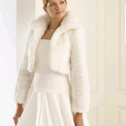wedding dress, wedding dress, wedding dress, fur jacket