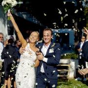bride and groom, bride and groom, bride and groom, confetti - Gustav Films