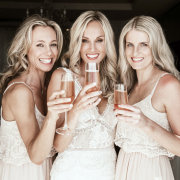 bride and bridesmaids - Barclay Studios