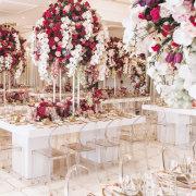 floral centrepieces - Barclay Studios