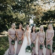 bride and bridesmaids - The Millhouse Kitchen