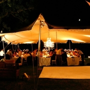 outdoor reception - Freeform Tents