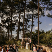 outdoor ceremony - Lothian Vineyards