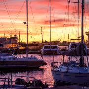 sea, sunset, view, venue - Royal Cape Yacht Club