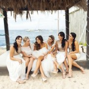bride and bridesmaids - Bernice Frylinck Makeup & Hair