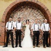 bride and groomsmen - Accolades Boutique Venue