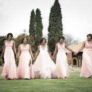bride and bridesmaids - Accolades Boutique Venue