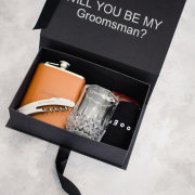 grooms accessories, groomsmens gifts - Box Boutique