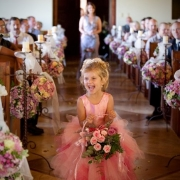 ceremony, flower girls, aisle