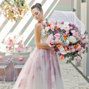 bouquet, wedding dress - Absolute Perfection - Flowers