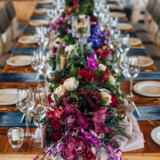 floral centrepieces, floral runner - Event Architect