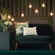 naked bulbs, wedding furniture - Event Architect