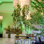 hanging greenery - Event Architect