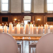candles, table decor with candles - Event Architect