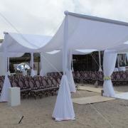 beach wedding, outdoor ceremony