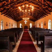 chapel, aisle, wedding chapel