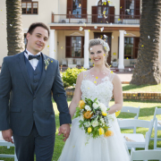 bride, groom, venue - Kelvin Grove Club