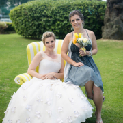 bride, grey, venue, white, yellow - Kelvin Grove Club