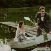 bride and groom, bride and groom - Makeup by Lauren