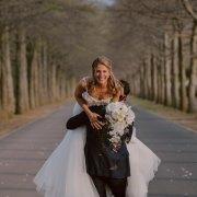 bridal bouquet, bride and groom, bride and groom - Makeup by Lauren