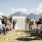 outdoor ceremony - Vrede en Lust
