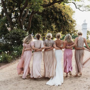 bride and bridesmaids - Vrede en Lust