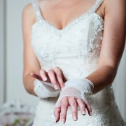 gloves, wedding dress - Ilse Roux Bridal Wear